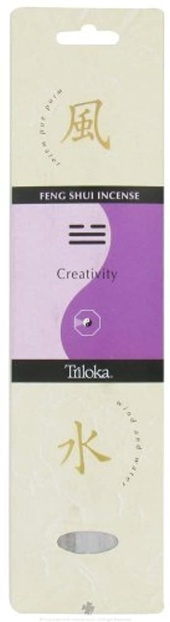 蒸発する高度自慢Triloka - Feng Shui Incense Creativity - 10 Stick(s) [並行輸入品]