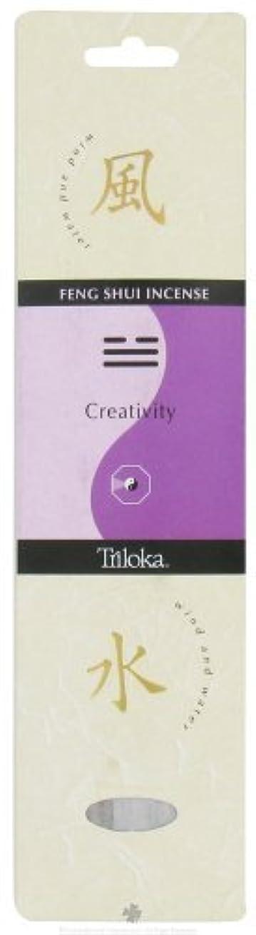 ふりをする補償なるTriloka - Feng Shui Incense Creativity - 10 Stick(s) [並行輸入品]