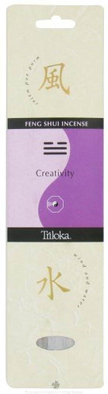 プログラム段落検出するTriloka - Feng Shui Incense Creativity - 10 Stick(s) [並行輸入品]