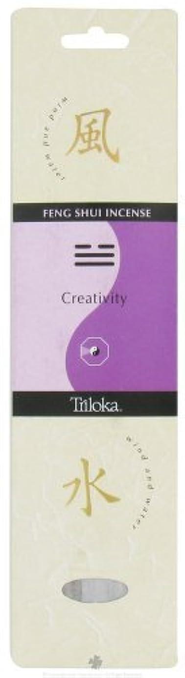 遠い罪気分が悪いTriloka - Feng Shui Incense Creativity - 10 Stick(s) [並行輸入品]