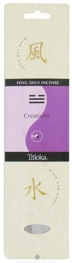 後方シリーズビルマTriloka - Feng Shui Incense Creativity - 10 Stick(s) [並行輸入品]