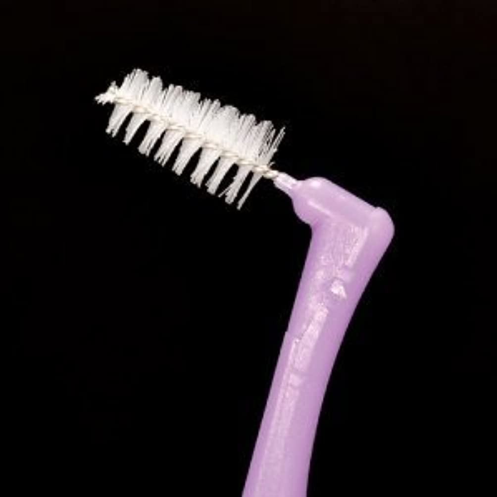 ピボットメイト好戦的なプロスペック 歯間ブラシ アングルアクア/L/4本入り