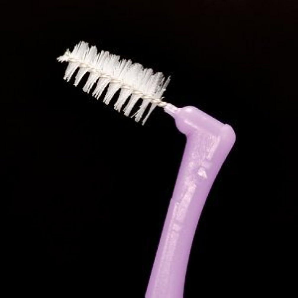 薄いですブリーフケース貸すプロスペック 歯間ブラシ アングルアクア/L/4本入り