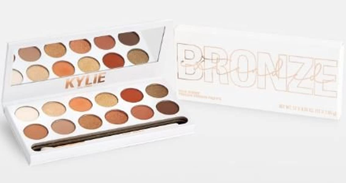 効能首尾一貫したカバーKylie Cosmetics THE BRONZE EXTENDED PALETTE ブロンズパレット