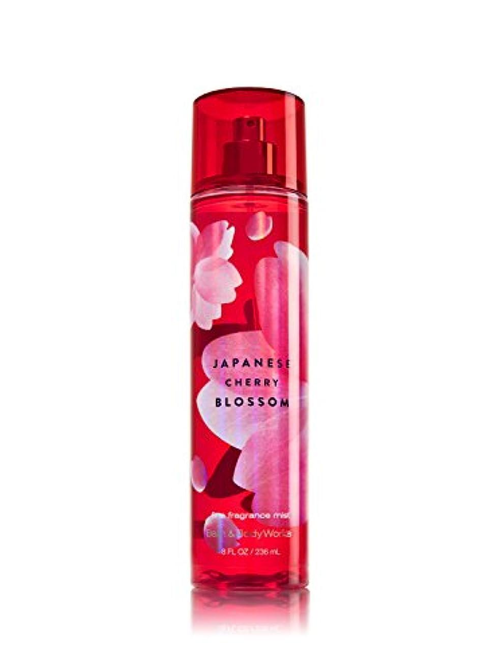 表示アルファベット乗り出すバス&ボディワークス ジャパニーズチェリーブロッサム ファイン フレグランスミスト Japanese Cherry Blossom Fine Fragrance Mist [並行輸入品]