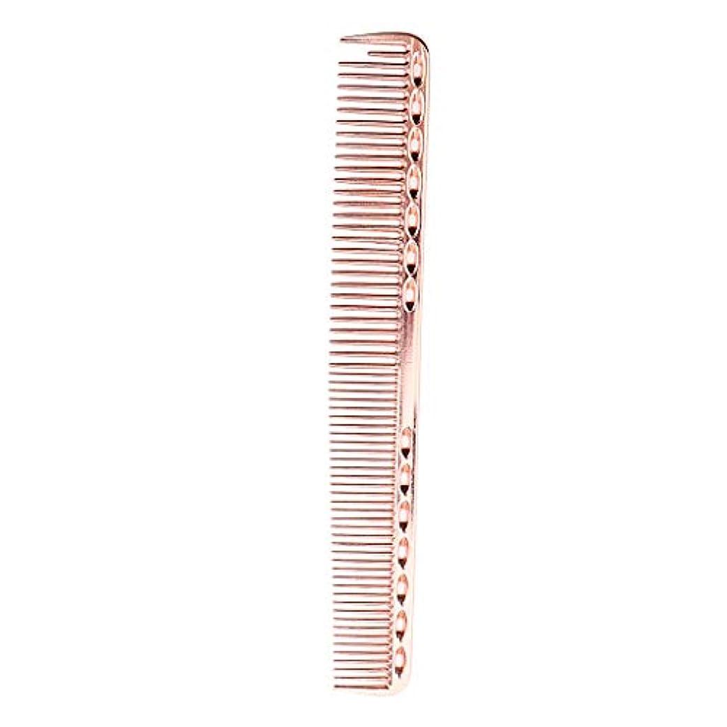 尊敬するブース粘着性帯電防止櫛 頭皮マッサージ ヘアコーム プロ ヘアサロン 自宅用 5色選べ - ローズピンク