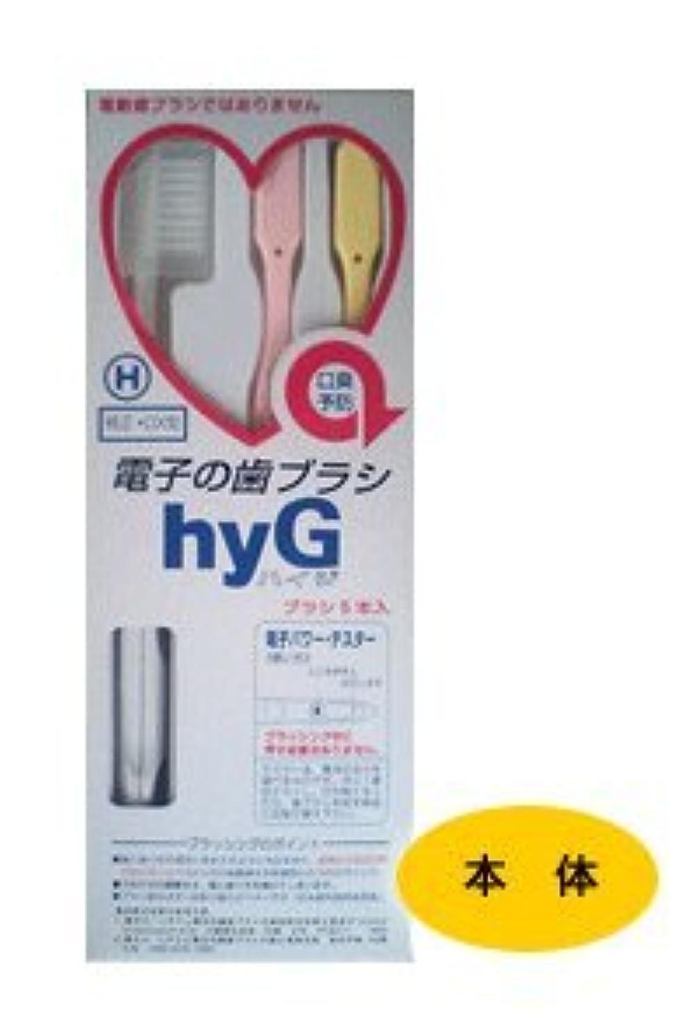 領事館現在海洋電子の歯ブラシ ハイジ(hyG) 本体 H(ハード) 【純正?DX型】