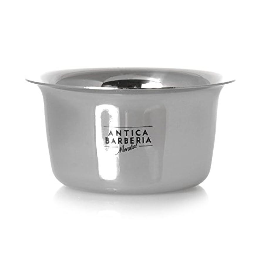 並外れたピッチ痴漢Antica Barberia Mondial - Shaving bowl - Stainless steel