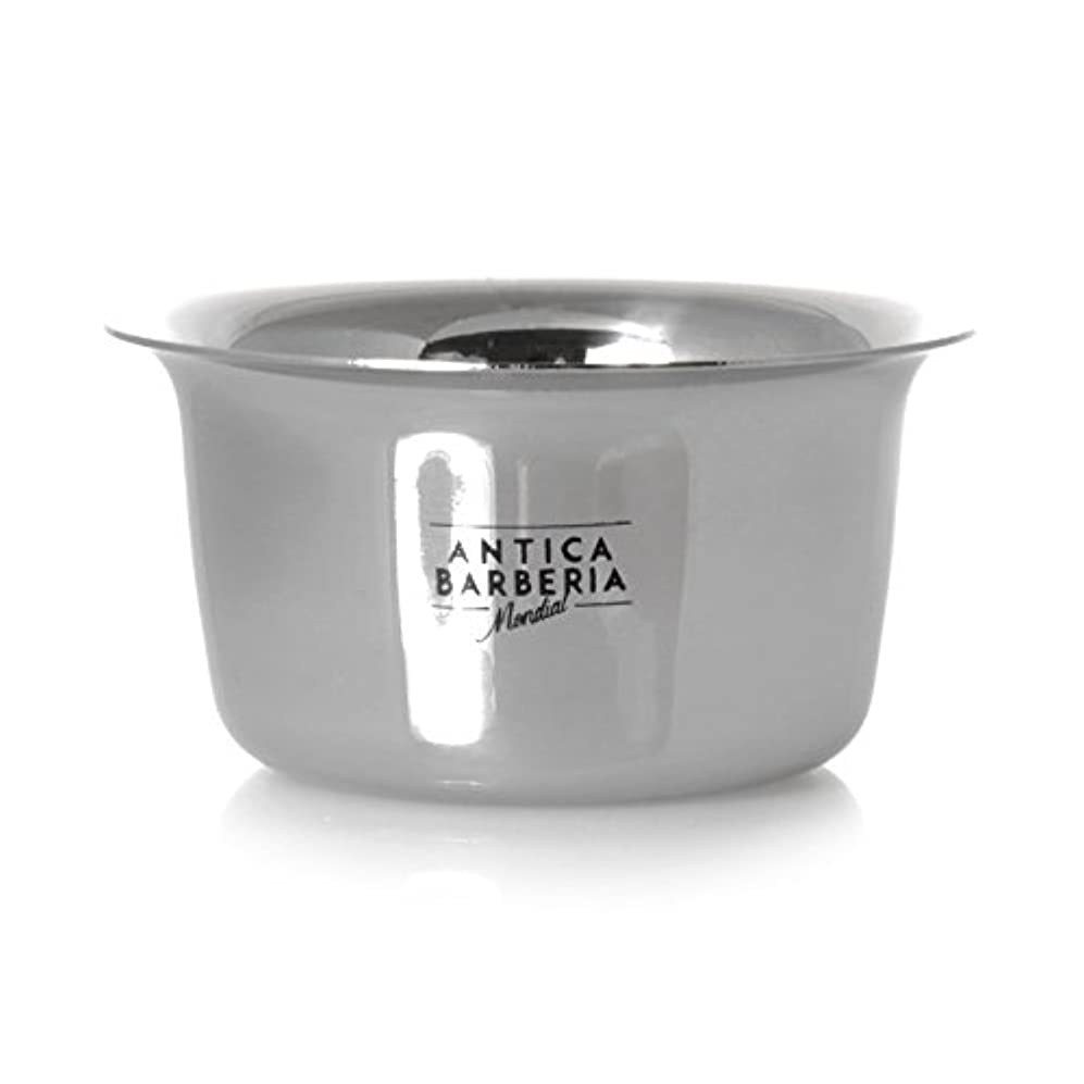 希望に満ちたノート見てAntica Barberia Mondial - Shaving bowl - Stainless steel