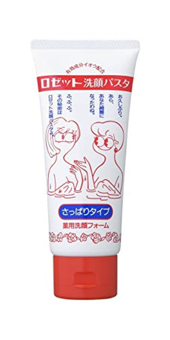 抑圧強打地球ロゼット洗顔パスタさっぱりタイプ130g(医薬部外品)