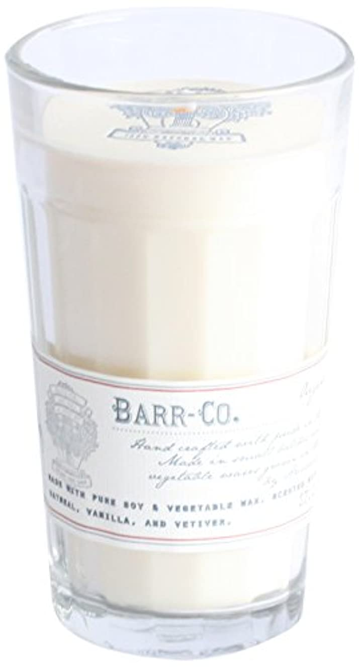 男性作り上げる方法論BARR-CO.(バーコー) ナチュラルワックスキャンドル