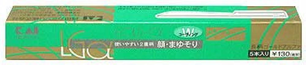 工場中絶挽く長柄カミソリ ゴールドアルファー LGα-5H1
