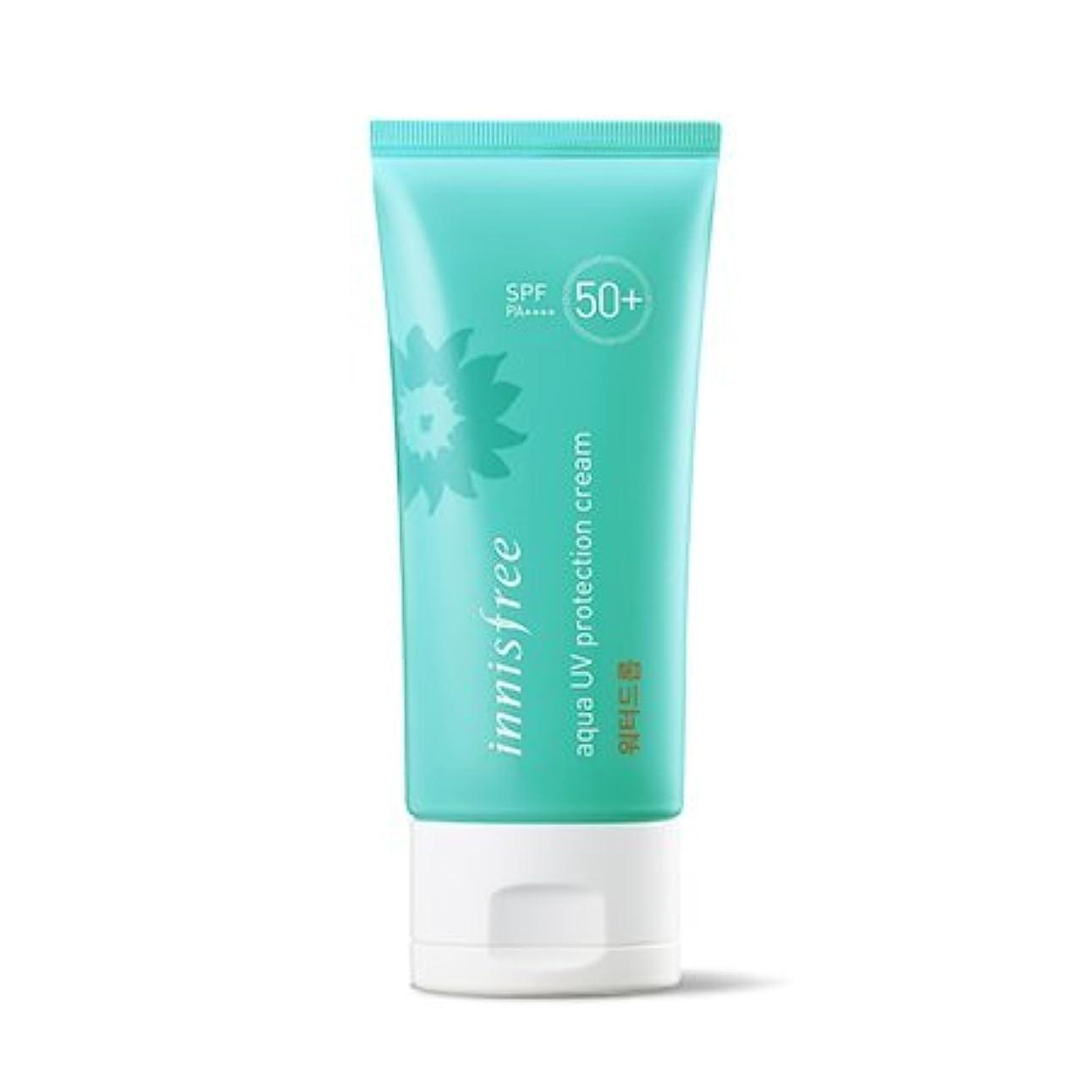 抱擁抱擁抗生物質イニスフリー アクアUVプロテクションクリームウォータードロップ SPF 50+ PA ++++/Innisfree Aqua UV Protection Cream Water Drop 50ml [並行輸入品]