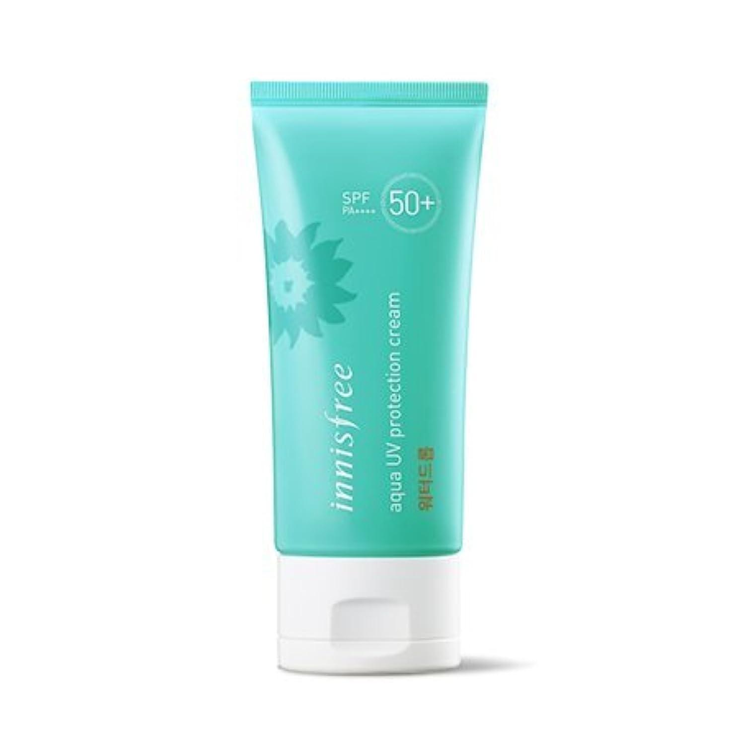 装備する方言安全性イニスフリー アクアUVプロテクションクリームウォータードロップ SPF 50+ PA ++++/Innisfree Aqua UV Protection Cream Water Drop 50ml [並行輸入品]
