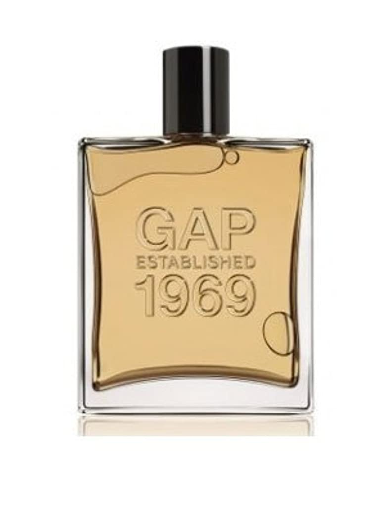 信仰方向テニス[Gap] Gap Established 1969 For Men 100 ml EDT SP