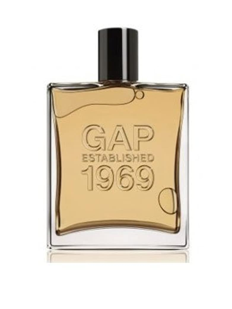 航空会社過言床を掃除する[Gap] Gap Established 1969 For Men 100 ml EDT SP