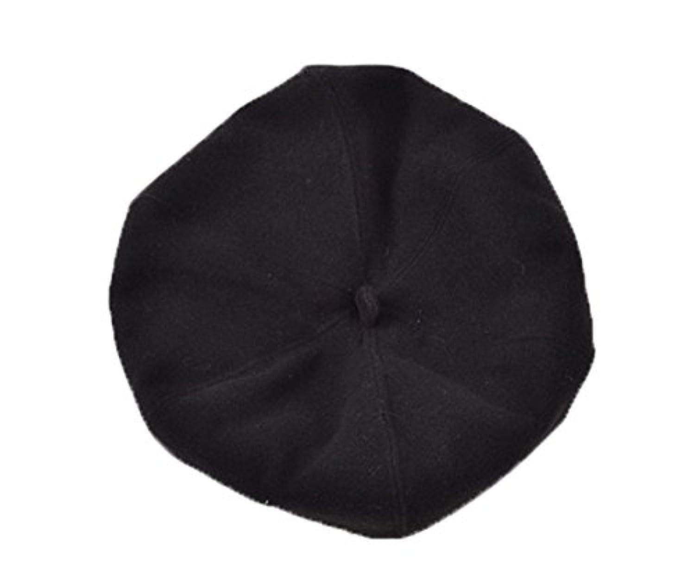 COMVIP 可愛い フェルト キャップ レディース 帽子 防寒 ベレー帽