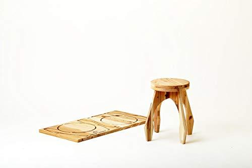 DIY 自分でつくる木の家具キット 木it キット ラウンドスツール NHK おはよう日本で紹介されました