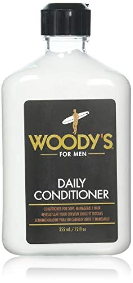 アシスタント駐地脆いWoody's Quality Grooming Daily Conditioner 355ml