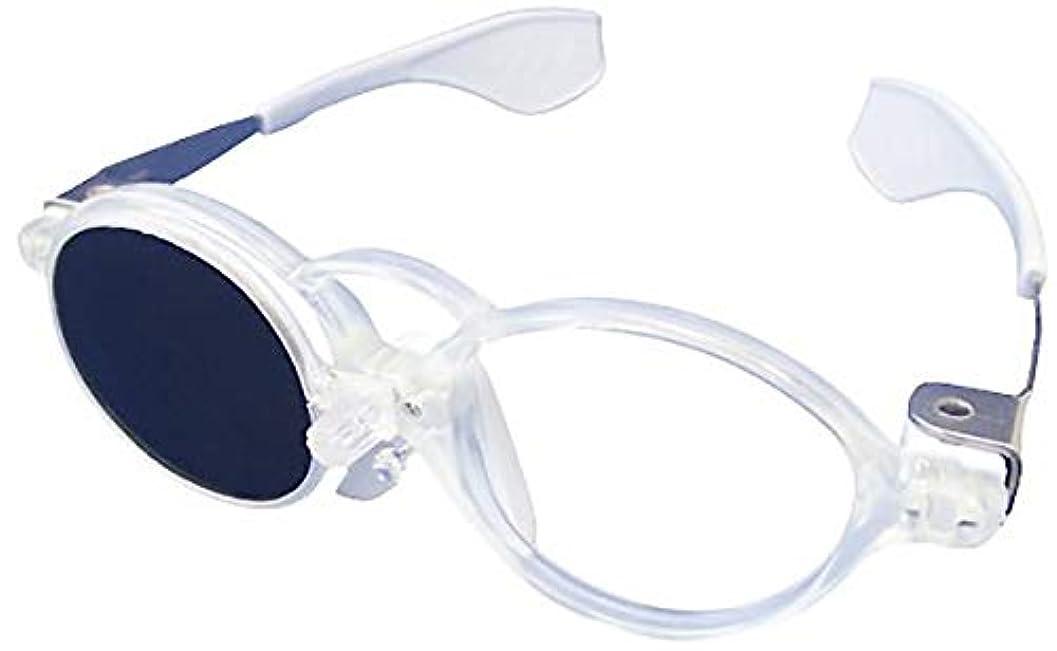 リッチ重なるお金ゴムウインクめがね 軽量 遮蔽メガネ 幼児 児童向け 検眼 視力検査