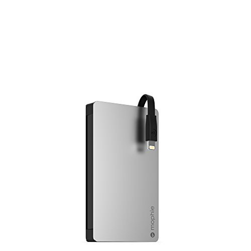 mophie Powerstation Plus 2x with lightning connector (3,000 mAh) - Black [並行輸入品]