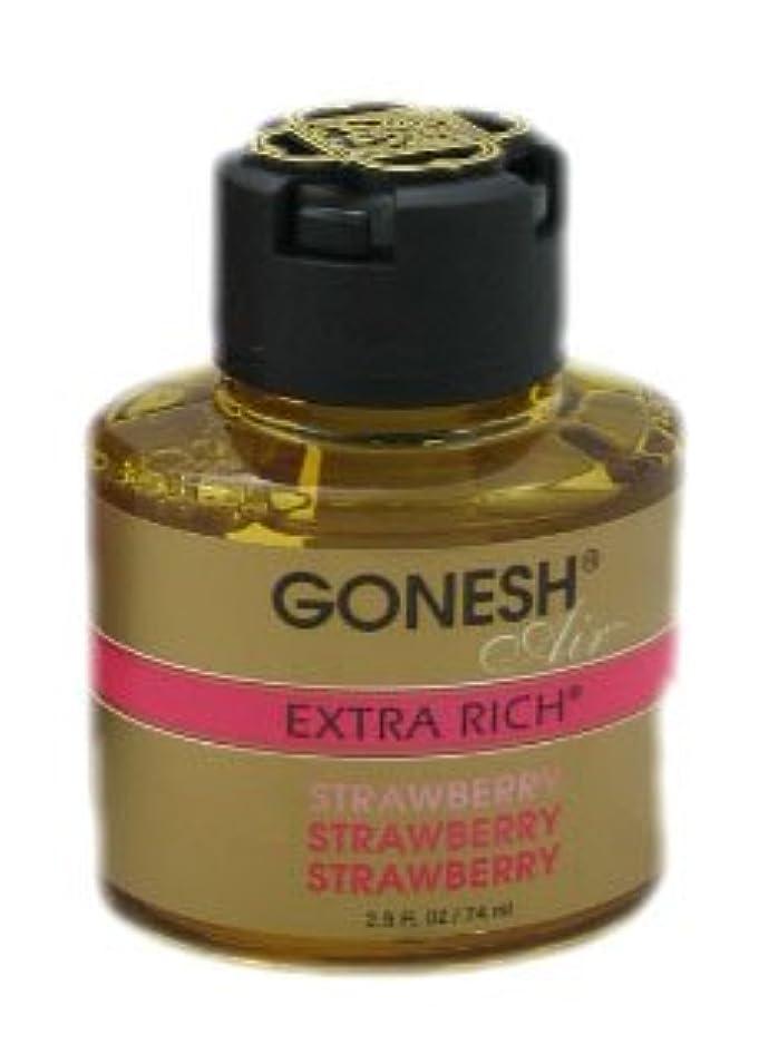 激怒死んでいる平らなガーネッシュ(GONESH) リキッドエアフレッシュナー ストロベリー 74ml