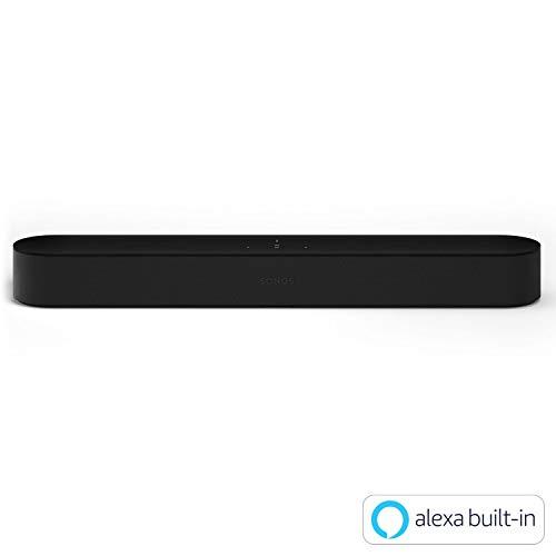 Sonos Beam ワイヤレスサウンドバー Amazon Alexa搭載 ブラック