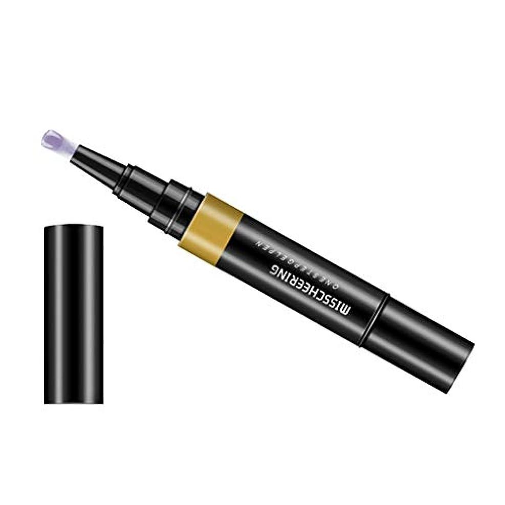 ビルマ黒くする動かないToygogo ジェル マニキュアペン ワニスラッカー ネイルアートペン 3 イン 1 サロン 初心者 セルフネイル DIY - グレー