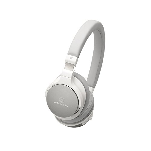 Audio-Technica ATH-SR5BTWH Bluetooth Wireless On-Ear High-Resolution Audio Headphones, White [並行輸入品]