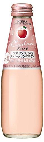 ニッカ シードル・ロゼ 瓶 200ml×24本