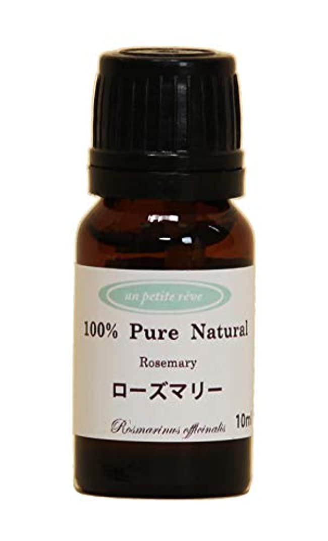 却下する砂の大学生ローズマリー 10ml 100%天然アロマエッセンシャルオイル(精油)