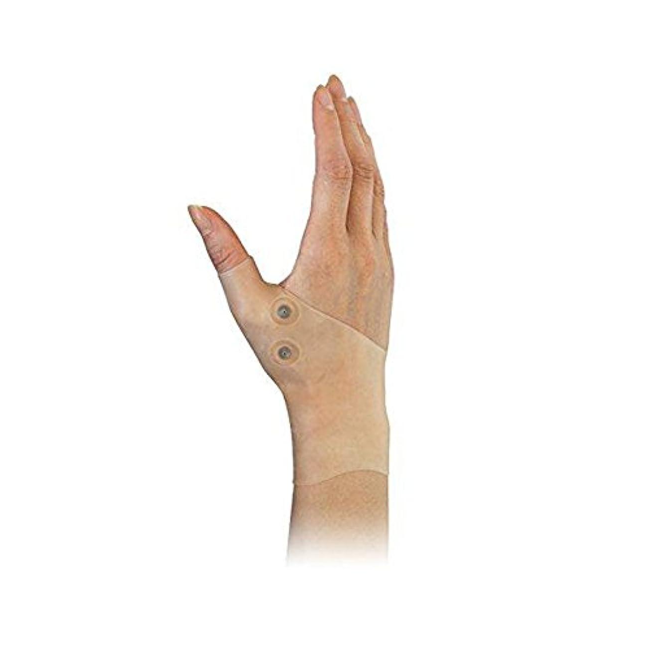 ミリメートル正しく立方体DOMO 親指サポーター 手首サポーター 肌の色合い 磁気療法 シリコーン素材 手首ブレース 保護 弾性 洗える 捻挫 腱鞘炎 タイピング 手首と親指の痛み リウマチ 関節炎用 男女兼用