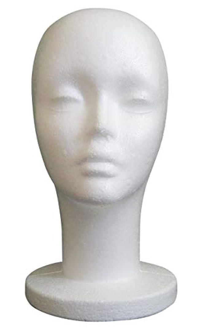 宇宙十年発明GJTr マネキンヘッド マネキン ヘッド トルソー 頭 ウィッグ スタンド ディスプレイ 女性 女