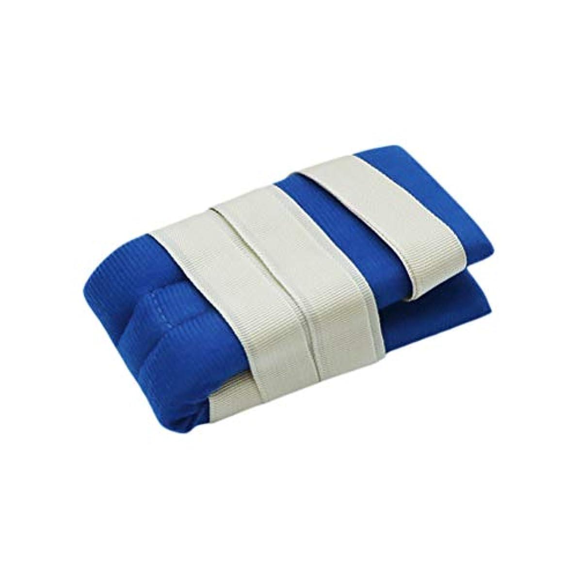 レイアウト水銀の疲労手または足のための柔らかい医学の制限の革紐バンド病院用ベッドの肢のホールダー患者のための普遍的な抑制制御クイックリリースバンド