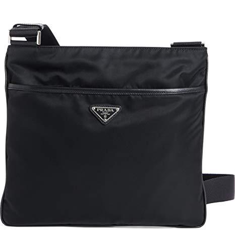 [プラダ] メンズ ショルダーバッグ Prada Slim Compact Messenger Bag [並行輸入品]