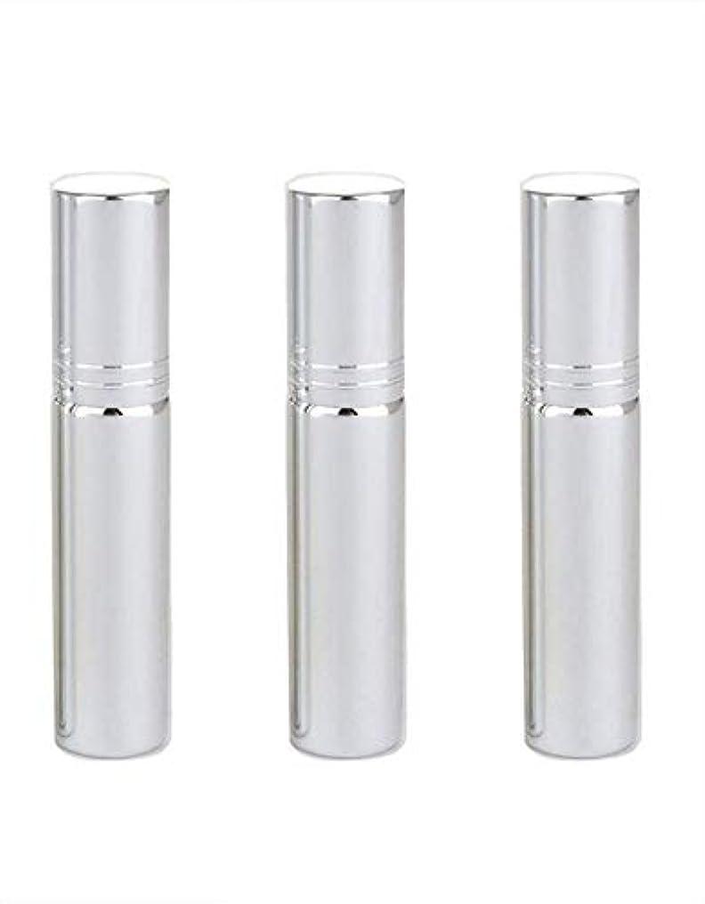 羊のスラダムによるとSimg アトマイザー グラスアトマイザー 香水ボトル スプレーボトル 詰め替え容器 旅行 漏れ防止 (銀メッキ)