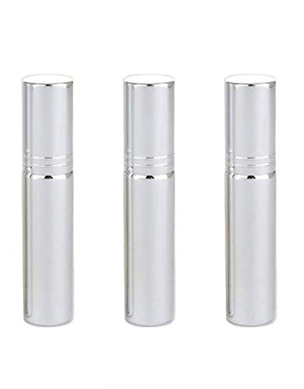 当社名目上のペインギリックSimg アトマイザー グラスアトマイザー 香水ボトル スプレーボトル 詰め替え容器 旅行 漏れ防止 (銀メッキ)