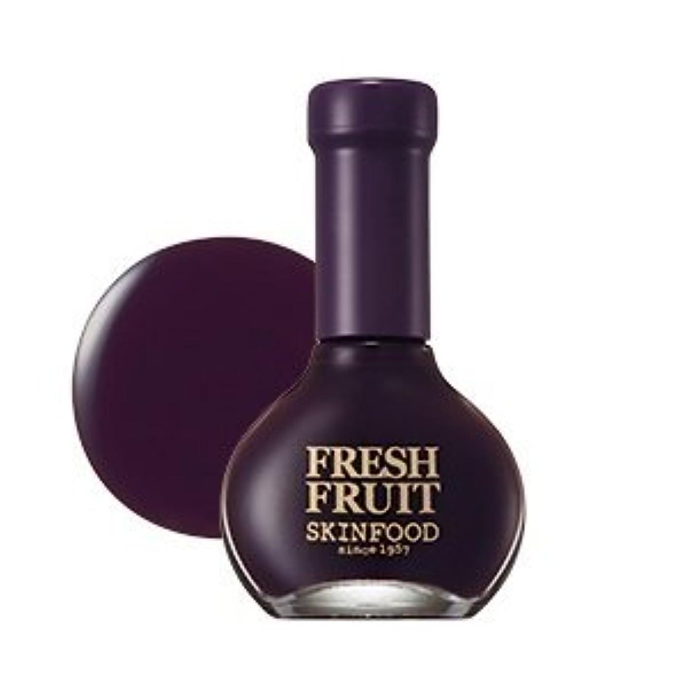 SKINFOOD Fresh Fruit Nail (Plum Collection) (No.12 Plum Oil) / スキンフード 果物ネイル(プラムメロー) [並行輸入品]