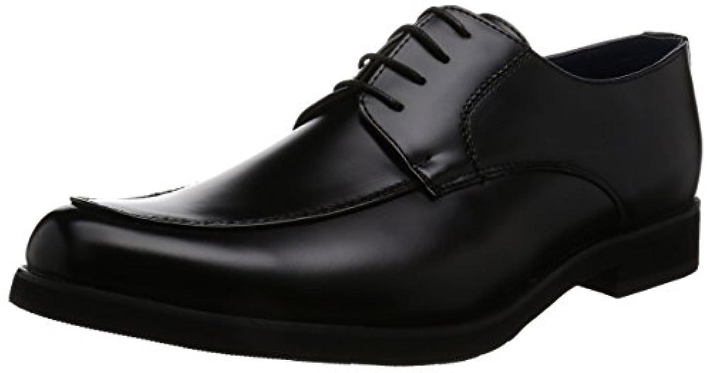 リッチ健康的取得[アットジーノ] ビジネスシューズ ZN5002 防水 紳士靴 通学 Uチップ 雨 幅広 4E 軽量 ZN5002