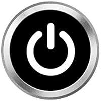 ホームボタンシール Sakula 指紋認証可能 iPhone7 iPhone7 Plus iPhone6s iPhone6 Plus iPhone5s iPad miniなど対応 ホームボタンシール(ブラック)