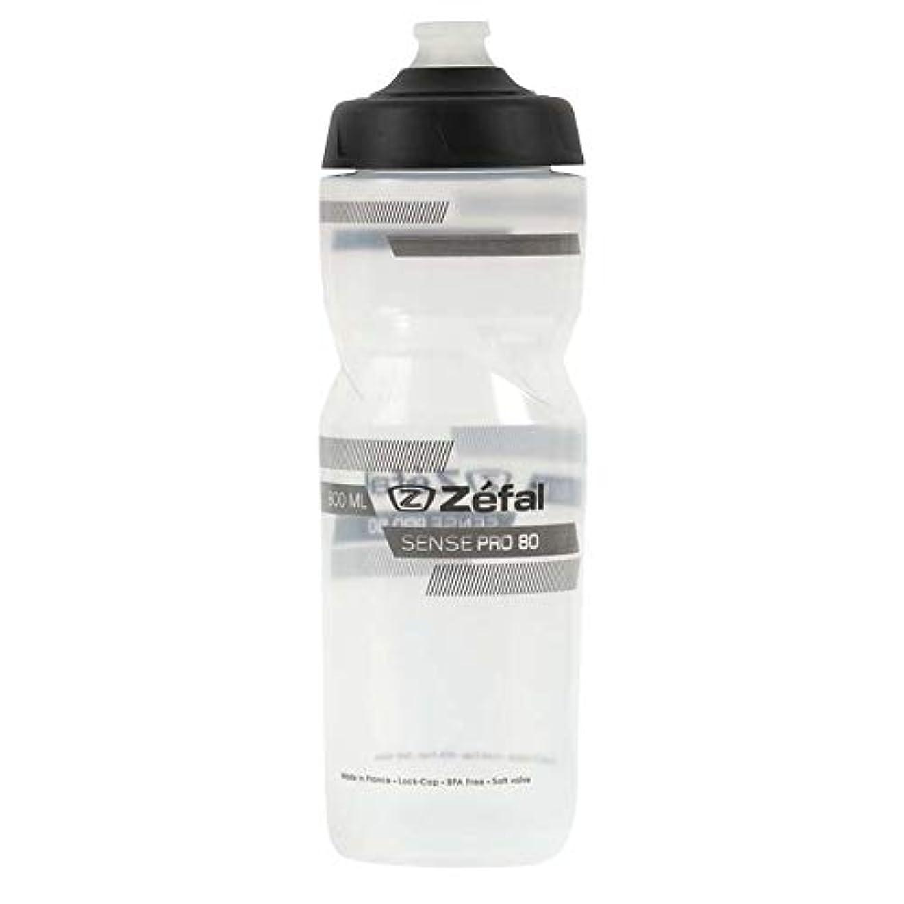 珍しい超えてミッションゼファール(Zefal) ドリンクボトル Sense Pro 80 Translucent (grey/black) 1461 Translucent 800ml