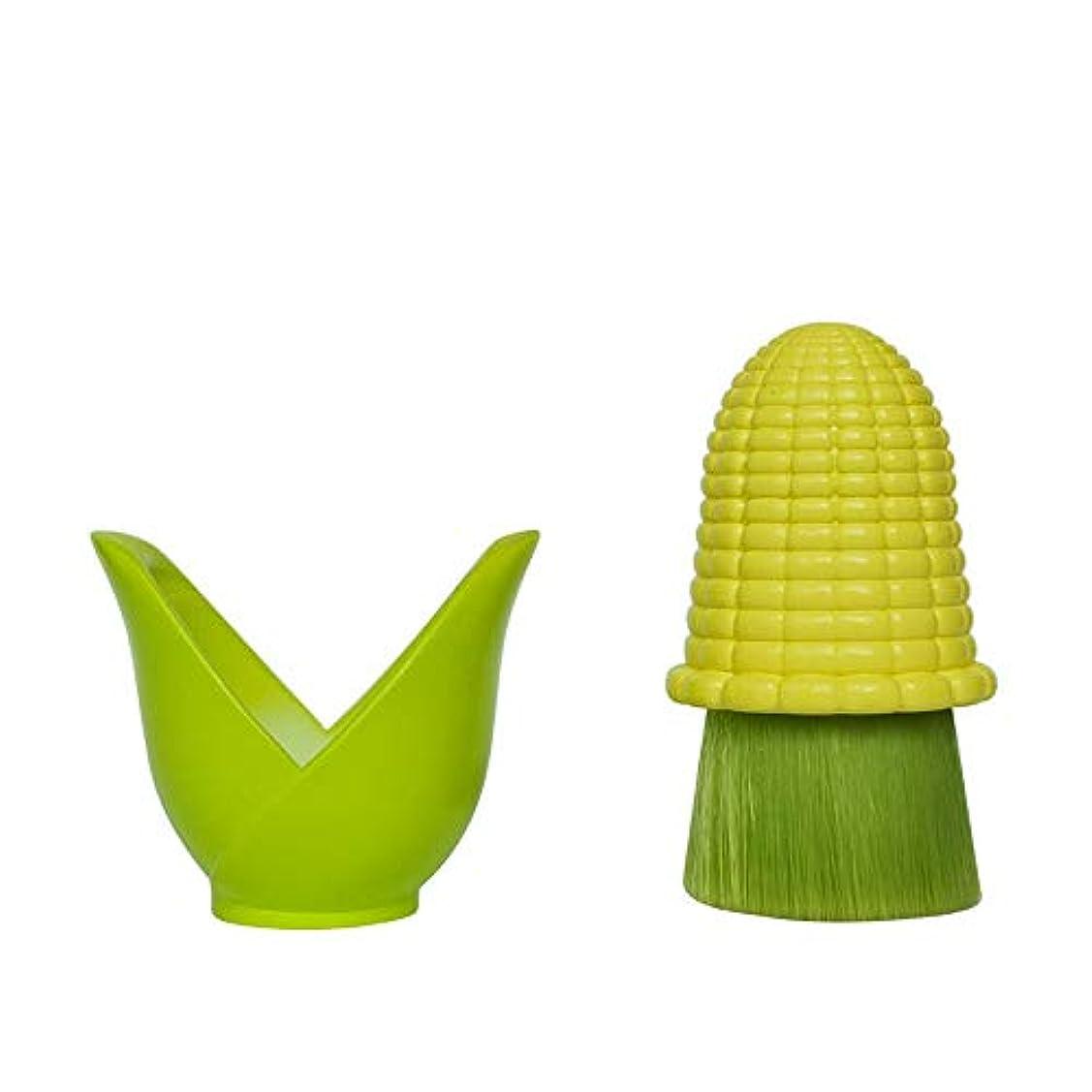 核埋め込むであるLYX イエローコーンウォッシュブラシ、カバーマニュアルプラントシリーズのクリーニングアーティファクト美容ツールで洗顔ブラシ、抗菌本物のスーパーソフトフェイスクリーニングブラシ、 (Color : Yellow)