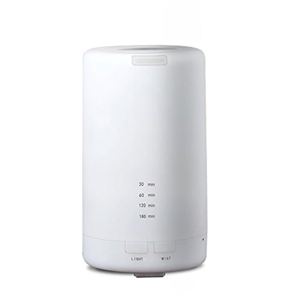 に渡ってライナー飢えRaiFu アロマディフューザー 70ml 加湿器 アロマテラピー浄化器 3タイマーモード LEDナイトライト USB充電