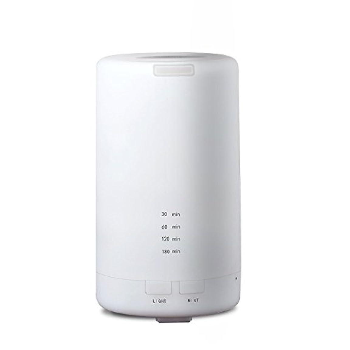 愚かフォロー眼RaiFu アロマディフューザー 70ml 加湿器 アロマテラピー浄化器 3タイマーモード LEDナイトライト USB充電