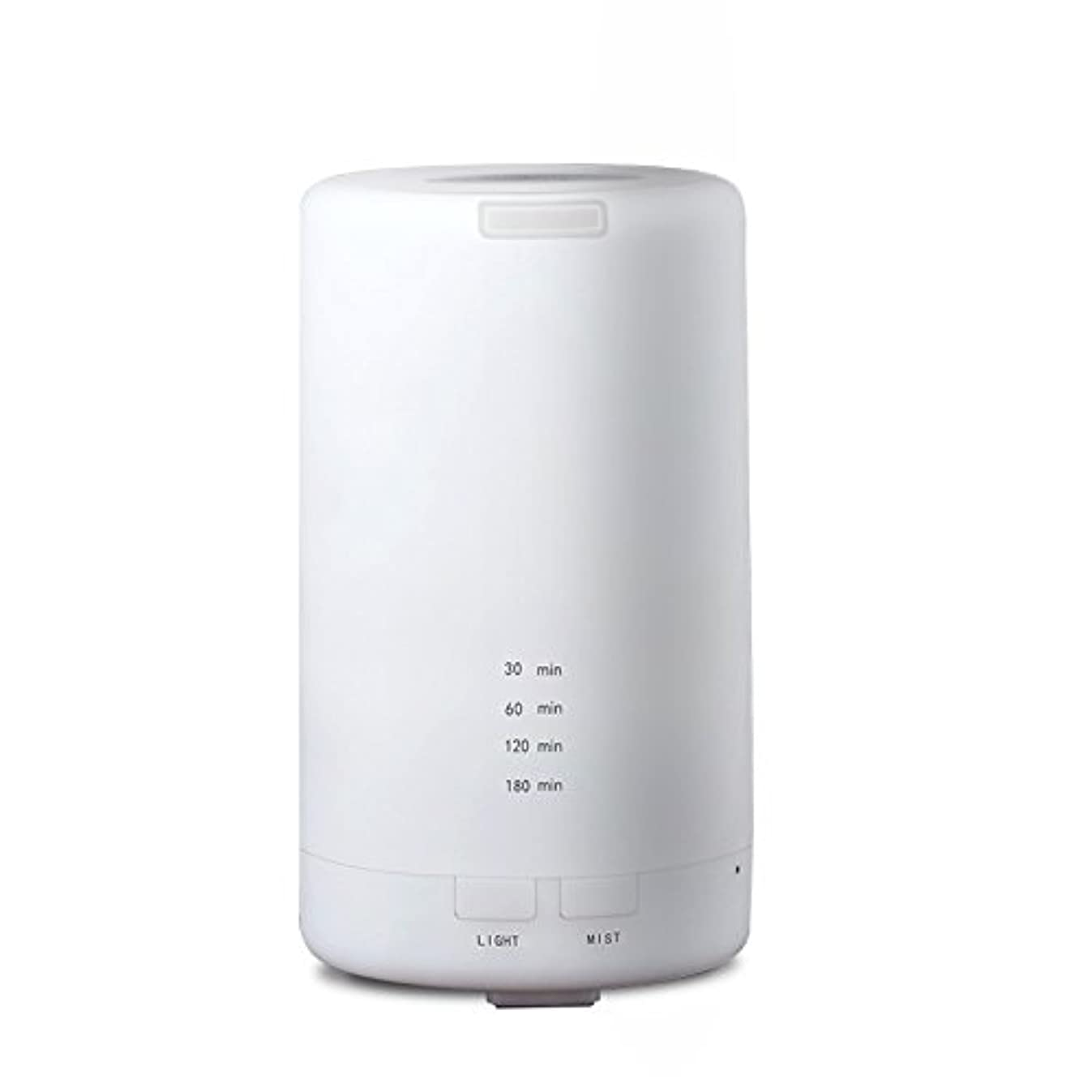 セクタ便利侵入するRaiFu アロマディフューザー 70ml 加湿器 アロマテラピー浄化器 3タイマーモード LEDナイトライト USB充電