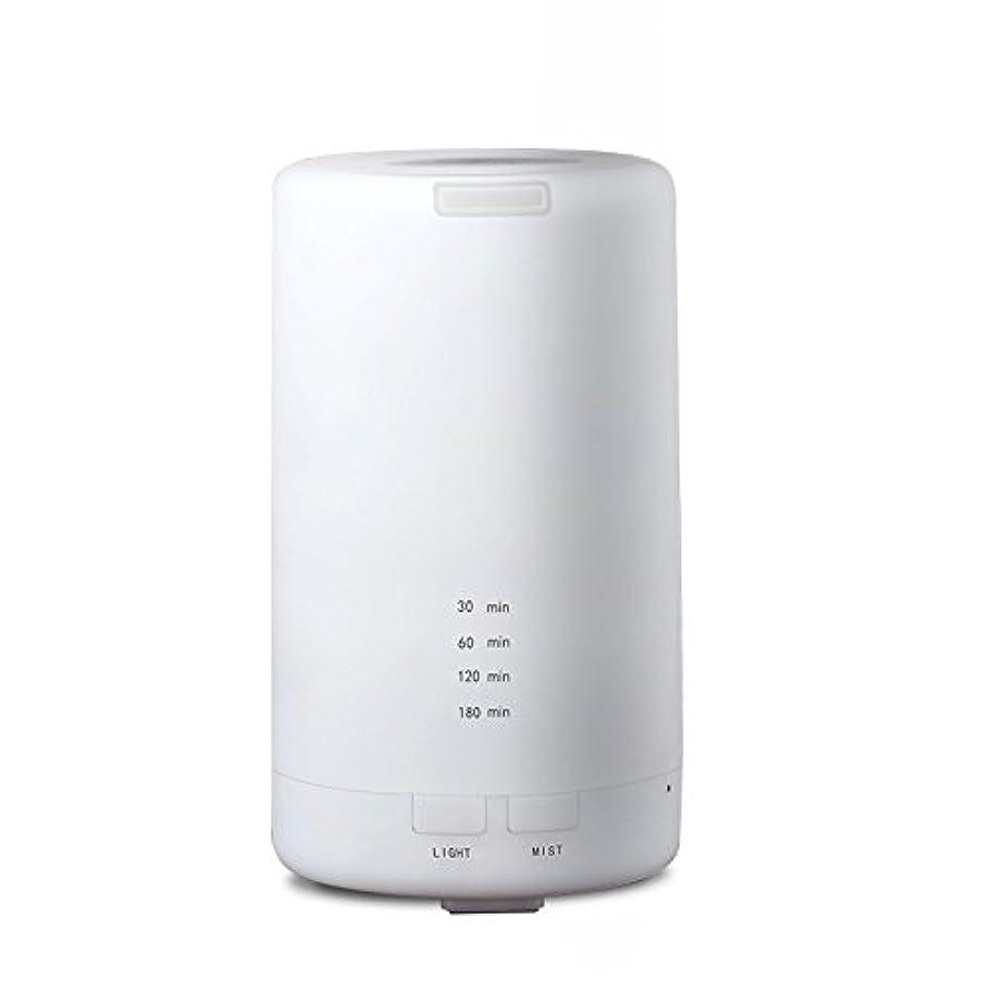 第五蒸発セグメントRaiFu アロマディフューザー 70ml 加湿器 アロマテラピー浄化器 3タイマーモード LEDナイトライト USB充電
