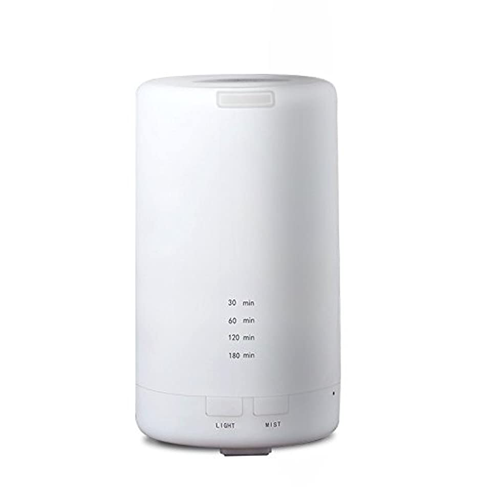 ジャンプ差選択RaiFu アロマディフューザー 70ml 加湿器 アロマテラピー浄化器 3タイマーモード LEDナイトライト USB充電