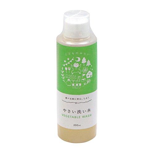 茂木和哉 の 野菜洗い用 除菌洗浄剤 「 やさい洗い水 」 200ml