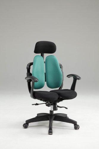 Hara Chair ハラチェア ニーチェ スマート(グリーン)【回転肘】高機能チェア オフィスチェア パソコンチェア 高機能チェアー ハラチェアー リクライニング ハイバック ヘッドレスト ロッキング メッシュ 腰痛 椅子 イス いす 事務用 回転 チェア haraチェア