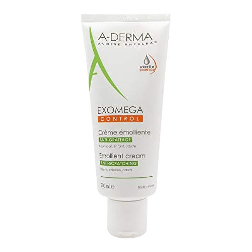 取得する愛国的な裕福なA-derma Exomega Control Emollient Cream 200ml [並行輸入品]